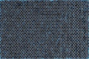 Blue carbon metal texture
