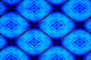 Diagonal glowing blue cubes illustration