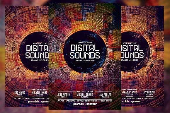 Digital Sounds Flyer