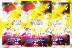 Electro Explosion Flyer