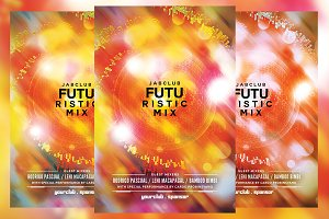 Futuristic Mix Flyer