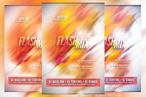 Flash Mix Flyer
