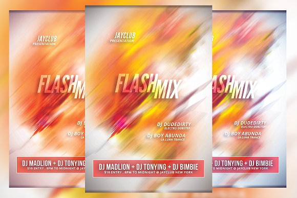 Flash Mix Flyer