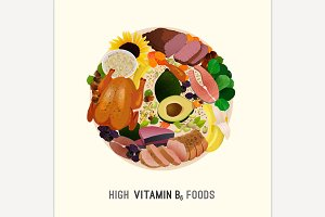 Vitamin B6 Rich Foods