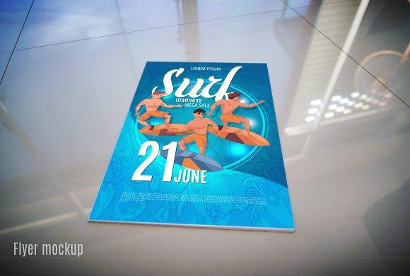 Flyer or Poster Mock-Up