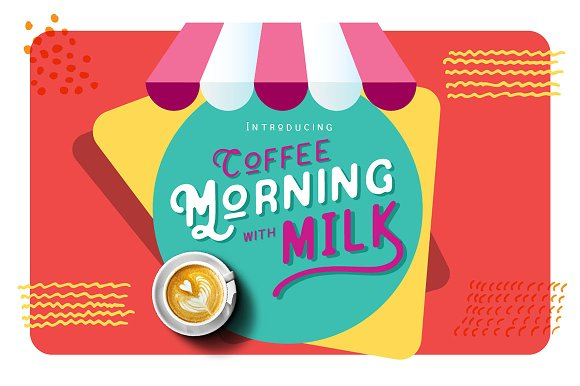 Coffee Morning With Milk