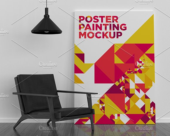 Poster Painting MockUp 010