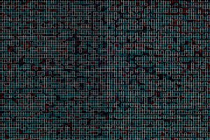 Colorful hacker maze pattern backdrop
