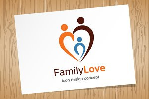 Family Love - Logo Template