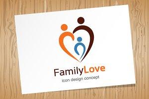 Family Love - Logo Template