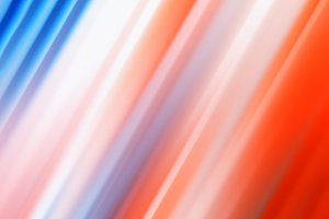 Diagonal red and blue lines bokeh background