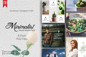 Minimalist Social Media Pack