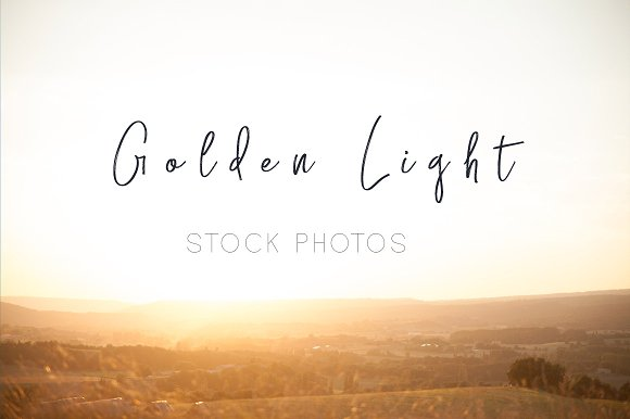 Gold light stock photo bundle in Product Mockups - product preview 1