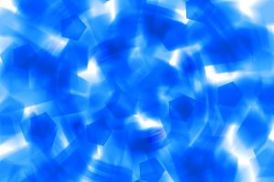 Blue shapes abstract explosion background