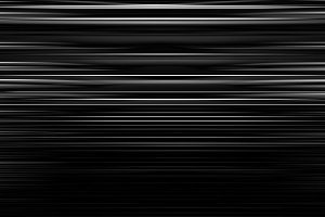 Horizontal black and white motion blur lines abstraction