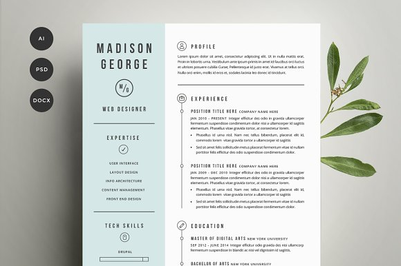Graphic design cover letter graphic design cover letter graphic resume cover letter template resume templates creative market thecheapjerseys Gallery