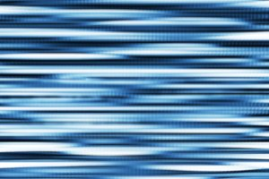 Horizontal blue blurred digital illustration background
