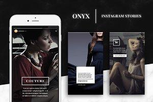 Onyx - Instagram Story Templates