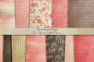 I'm Yours Digital Papers