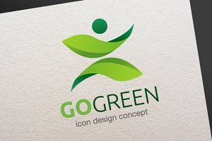 Go Green - Logo Template