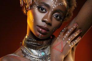 beautiful African girl