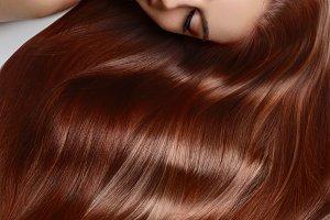 girl with beautiful long hair