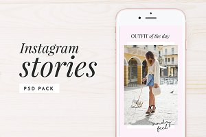 Instagram Stories Photoshop Pack