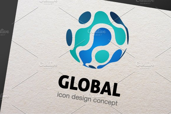 Global Logo Template in Logo Templates