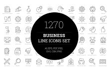 by  in Line Icons