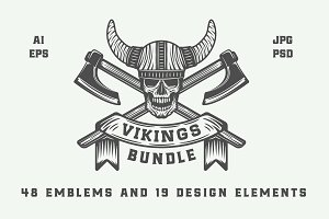 Vintage Vikings Bundle