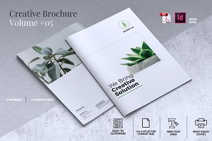 Creative Brochure Template Vol. 05