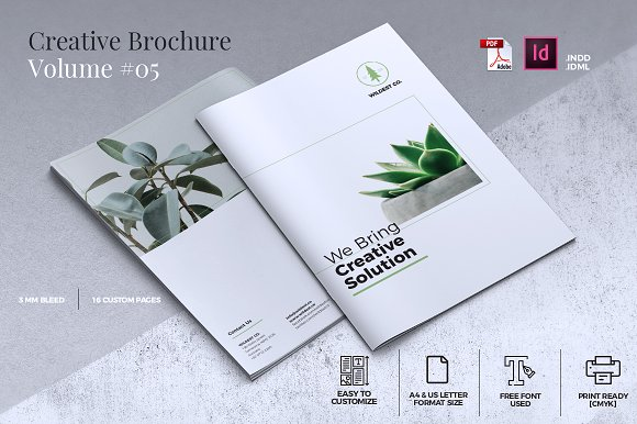Creative Brochure Template Vol 05
