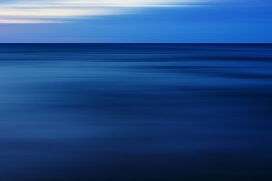 Aqua pale sunset blur abstraction
