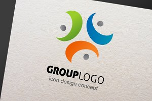Group - Logo Template