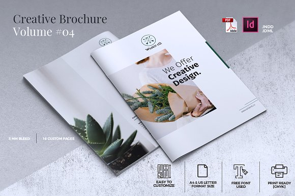 Creative Brochure Template Vol 04