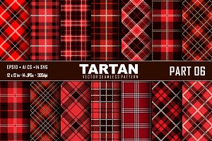 Seamless  Tartan Pattern Part -06