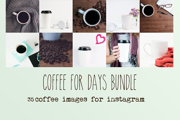 Coffee Instagram Bundle