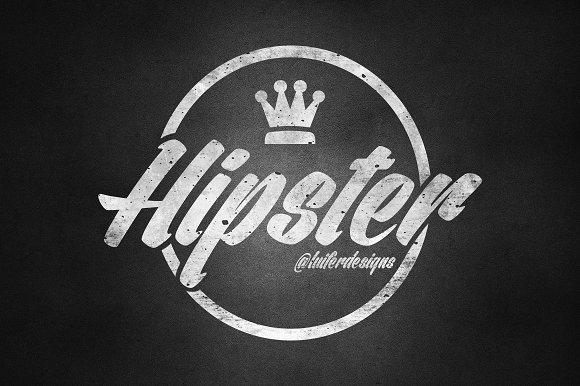 hipster logo design logo templates creative market