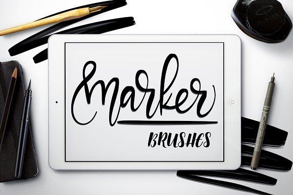 Marker Brushes Procreate