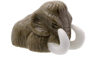 Mammoth Stone Figurine