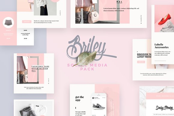 Briley Social Media Pack