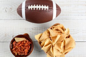 Chips, Salsa and Football
