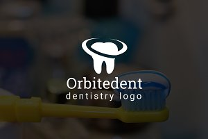 Orbitedent : Dental / Dentist Logo