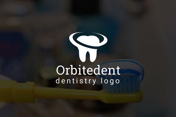 Orbitedent Dental Dentist Logo