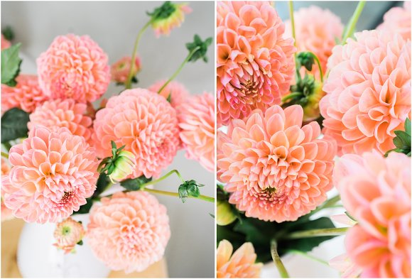 Dahlia Floral Styled Stock Images in Instagram Templates - product preview 1