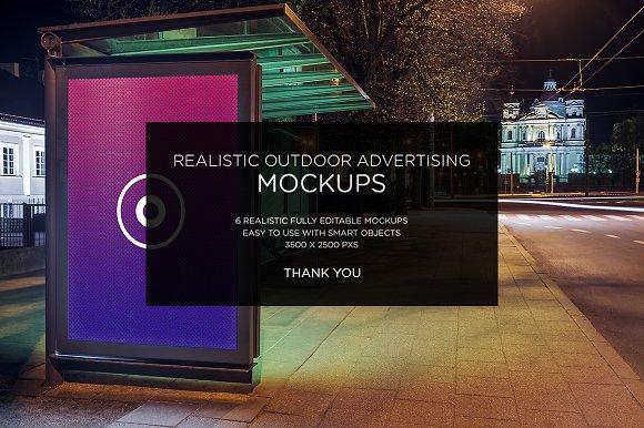 HQ Realistic Outdoor Mock-ups - Product Mockups