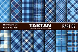 Seamless  Tartan Pattern Part -07