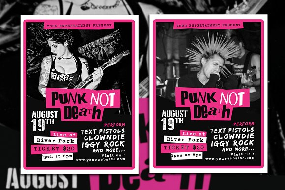 Punk Rock Music Event