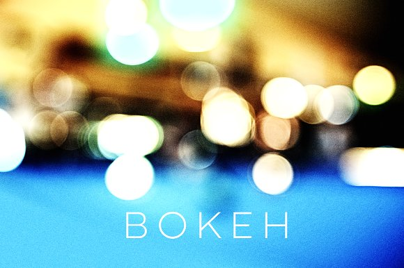12 Real Bokeh Backgrounds
