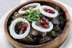 Georgian dish kuchmachi